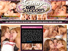 100% Exclusive Movies Of The Hottest Trannies Swapping Massively Fresh Loads Of Cum! These Hottest Chicks With Juicy Dicks Love The Taste Of Fresh Jizz!