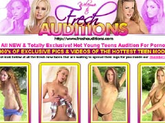 All NEW & Totally Exclusive! Hot Young Teens Audition For Porno`s! 