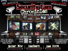 Welcome To Security Cam Chronicles - 100% Exclusive Hidden Camera Videos! You`ll See Couples Fuck In The Wildest Public Places! They Think No One`s Watching!
