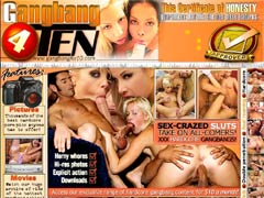 GangBang 4 Ten Features: Movies! Watch Our Huge Archive Of Vids Of The Hottest Gangbang Action! Pictures! Thousands Of The Best Hardcore Porn Pics Anyone Has To Offer! Live Shows! Live Interactive Action For You All Day And Night Long! $10 Is All You Need To Get Instant Access To All Of These!