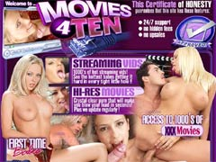 Welcome To Movies 4 Ten! 1000`s Of Hot Streaming Vids! See The Hottest Babes Getting It Hard In Every Tight Little Hole!!! Crystal Clear Porn That Will Make You Blow Your Load In Seconds! Watch Every Category Including Anal, Amateur, Group, Lesbians, Interracial & Many More! Plus We Update Regularly! All Of This For Only $10!